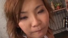 Uncensored Japanese Rui , Blowbang, Sperm In Mouth, Drinks