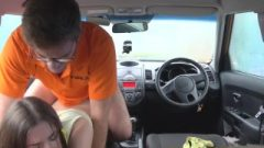Fake Driving College Full Part – Voluptuous Italian Learner With Massive Natural Breasts